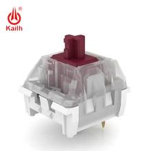 Kailh KS N prune violet/Berry/sauge commutateur, commutateur de clavier mécanique tactile/Clicky/linéaire