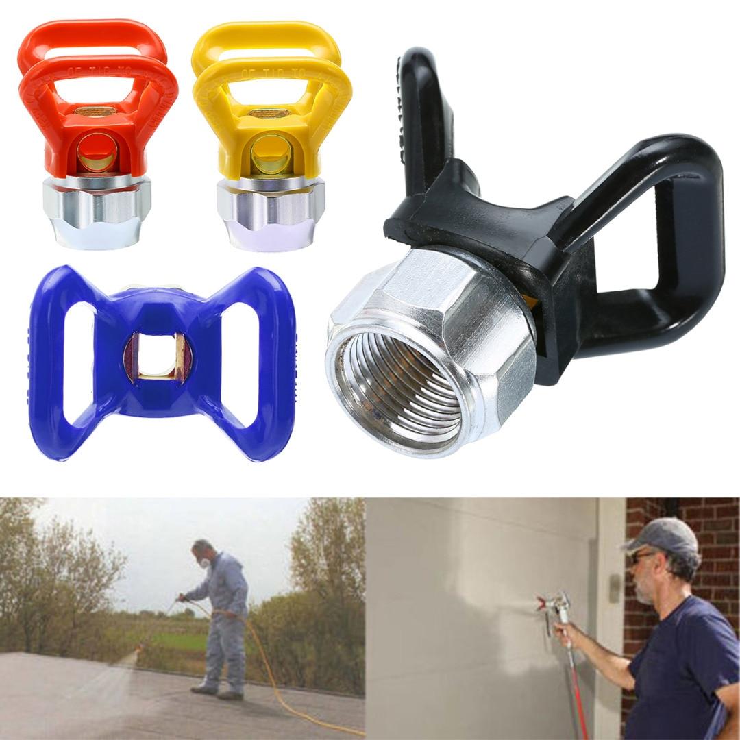 Airless Paint Sprayer Tips Paint Sprayer Guide Parts Spray Gun Tip Nozzle For Titan Wagner Paint Sprayer