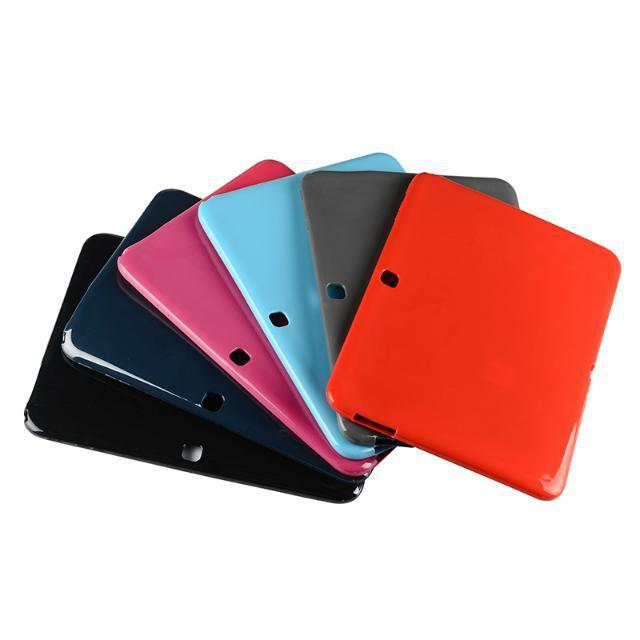 все цены на Ultra Slim Soft Silicon Rubber TPU Gel Protector Cover Tablet Protective Pouch Case for Samsung Galaxy Tab 4 10.1 T530 T531 T535 онлайн