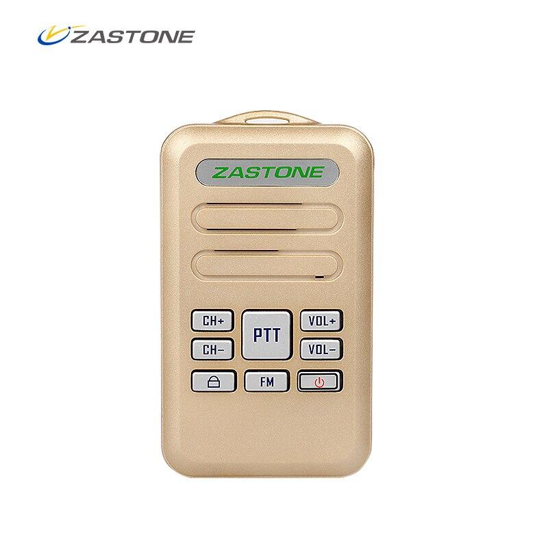 ZASTONE мини портативной рации 2 W Mini6 Новый Портативный Walkie Talkie 16CH 1000 mAh UHF 400-470 MHz два -передающие КВ трансивер