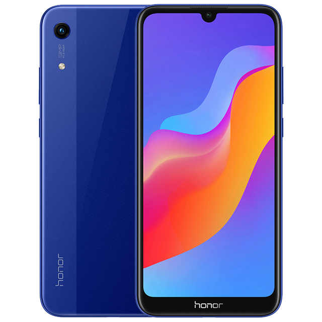 HUAWEI Honor 8A Smartphone Android 9.0 Octa-core 6.09 inch Full Screen 1560×720 Dual Camera 3020 mAh 3 Slots Cell Phone