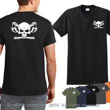 1bb00405f 2018 Cotton T-shirt - tow truck driver skull crossbones t shirt repo man  Summer Style