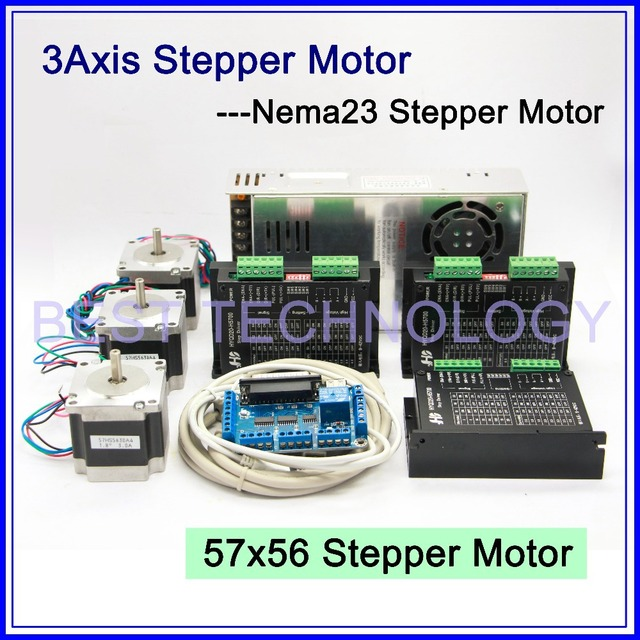 Buy 3axis Cnc Stepper Motor Kit 3pcs