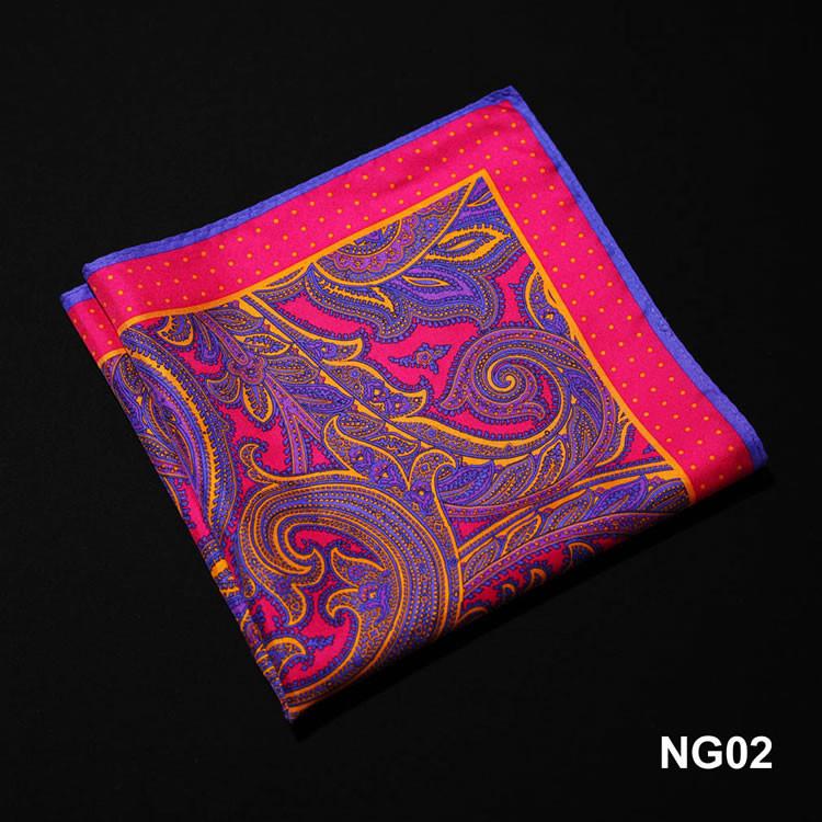 NG02 HN11K1 Pink Blue Paisley