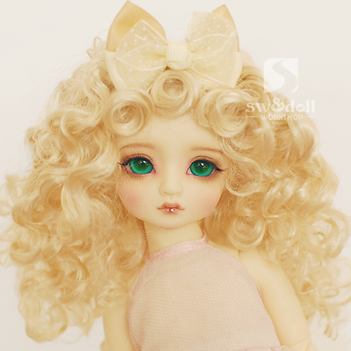 1/3 1/4 1/6 1/8 1/12 scale BJD wig curls hair for BJD/SD DIY doll accessories.Not included doll,clothes,shoes,and other 16C1052
