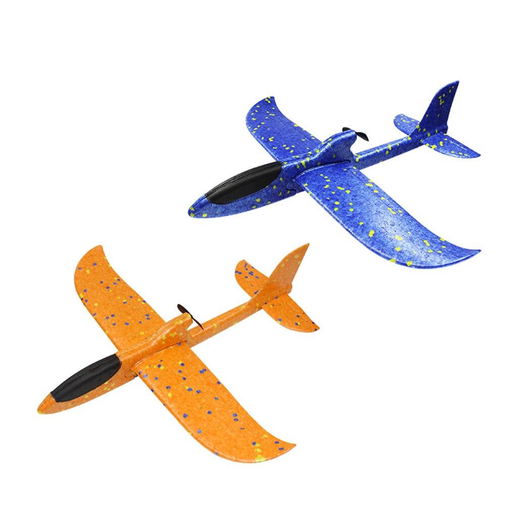 Хватать руками самолет пенный самолет размах крыльев EPP UAV 2 шт EPP планерный самолет Летающий игрушка образовательная модель самолета Модель игры