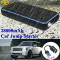 Водонепроницаемый 28000mAh автомобильный пусковой стартер power Bank 1000A 12V Портативный пусковой усилитель устройства Автомобильное зарядное устр...
