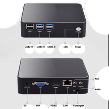 Nuc With Intel Core I3 6006u Mini Pc For Windows10 Computer Ddr3L 4gb Ssd 128gb Support 2.5 Hdd Hdmi Vga Dual Display 4k Tv Box
