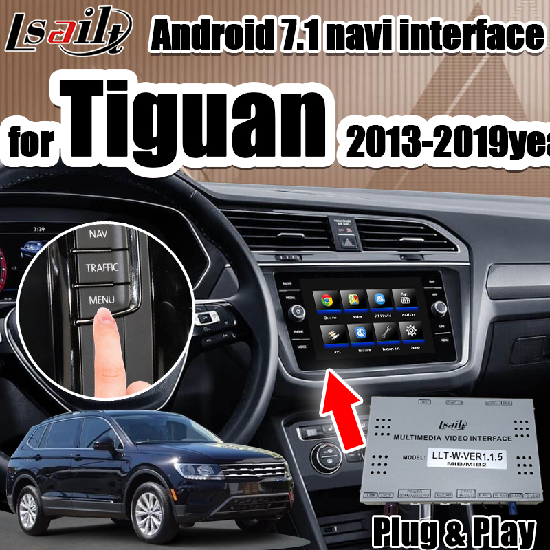 Navigation-Box Video-Interface Android Gps With Play For Atlas/seat/Skoda Year ROM32G