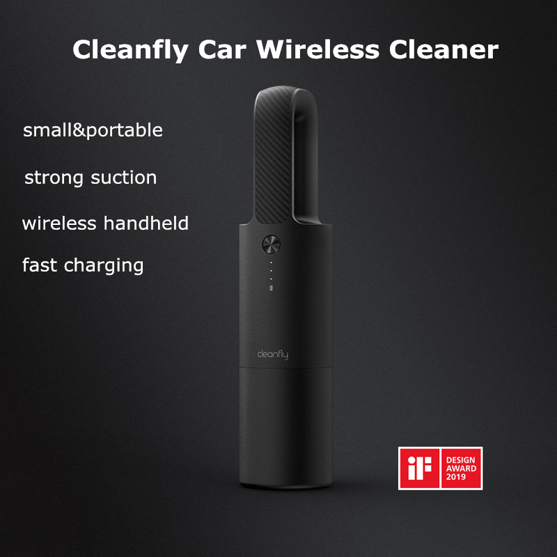 Xiaomi Mijia Cleanfly FVQ Car Autos Wireless Handheld Vacuum Cleaner Mi Portable Mini  Home Cordless Carpet Sofa Dust Cleaner