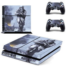 Vinly PS4 Skin Cover Sticker of Battlefield 4 for Sony PS4 PlayStation 4 and 2 controller skins