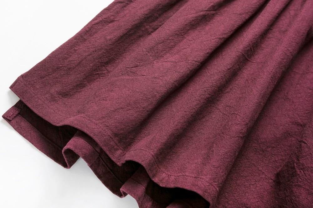 Cielarko Fata de bumbac rochie de vara de școală de bază de - Haine copii - Fotografie 5