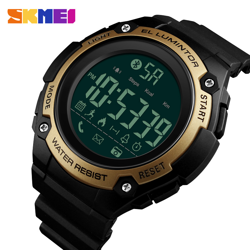 Digital Watches Watches 100% Quality Zk20 Top Luxury Smart Sport Watch Men Calorie Watches Call Reminder Alarm Clock 5bar Waterproof Digital Watch Reloj Hombre 1347 Beneficial To Essential Medulla