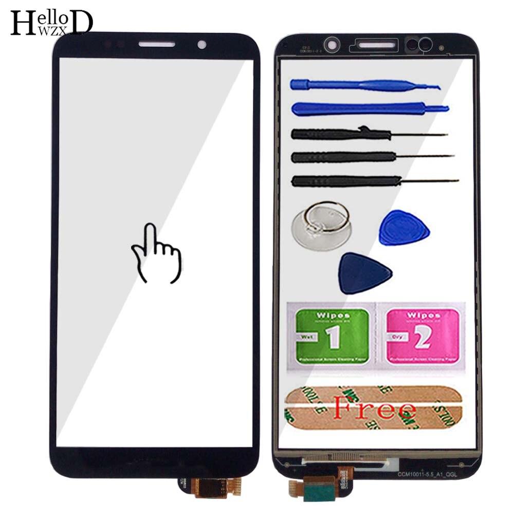 Touch Screen Für Huawei Y5 Prime 2018 DRA-L02 DRA-L22 DRA-LX2/Honor 7S 2018 Digitizer Outer Screen Glas Objektiv sensor Werkzeuge