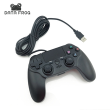 for Playstation 4 PS4 Wired Game Controller Dual Vibration 6 Axies Gamepads for PS4 PC MAC Game Joypad USB Joysticks 10ft Cable