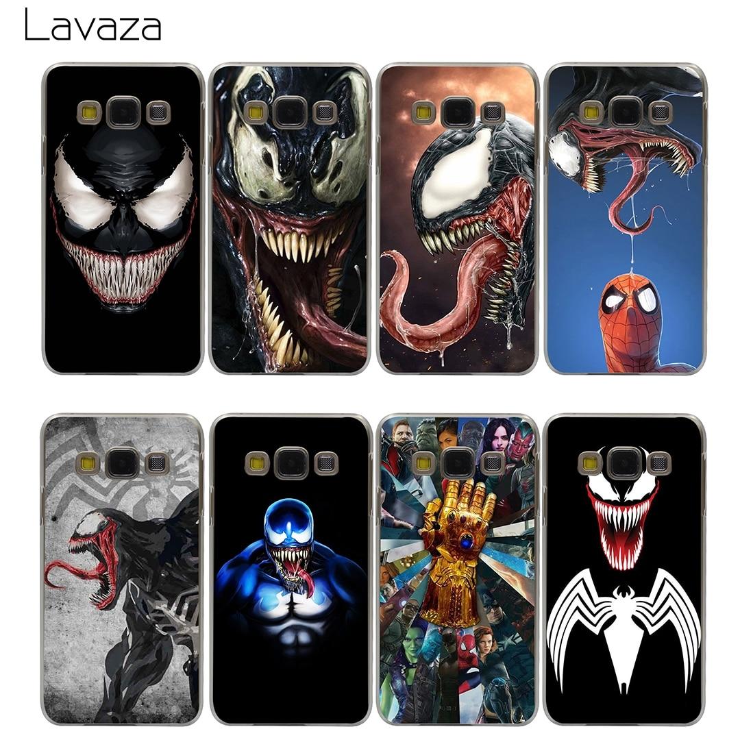 Lavaza Venom Marvel Villain Case for Samsung Galaxy A3 A5 A8 J1 J2 J3 J5 J7 Prime 2016 2017 2018 Note 5 8