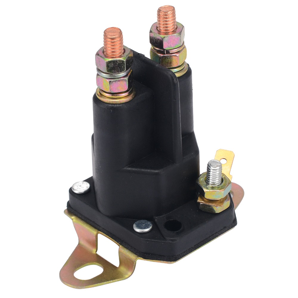 1pc Universal Solenoid Relay Switch 3 Terminals Replace Contactor Starter Switch For MTD Lawnmower lawnmower blade