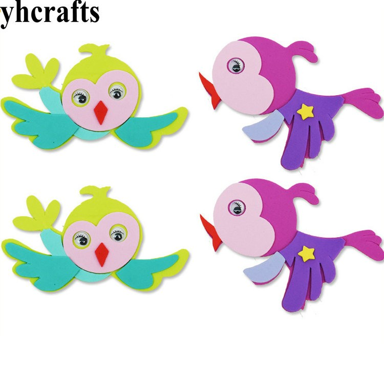 Realistic 5pcs/lot,mix Color Rabbit Stickers Kids Toy Early Learning Educational Diy Toys Spring Easter Crafts Kindergarten Ornament Oem Stickers Toys & Hobbies