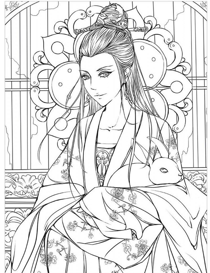 Aliexpress Acheter 2017 NEW HOT Mode dessin livres Belle antiquité livre de coloriage enfants adulte peinture antistress filles livre de coloriage