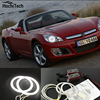 HochiTech Ccfl Angel Eyes Kit White 6000k Ccfl Halo Rings Headlight For Opel GT Roadster 2007
