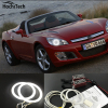HochiTech Ccfl Angel Eyes Kit White 6000k Ccfl Halo Rings Headlight For Opel GT Roadster 2007