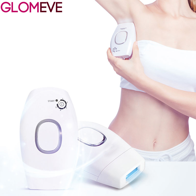 IPL Women Epilator Laser Hair Remover Photo Facial Hair Removal Body Epilation the Laser Threading Machine