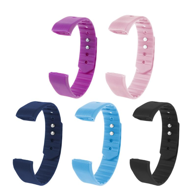 2019 New Silicone Watchband Buckle Strap Replacement For ID 115 Smart Watch Bracelet