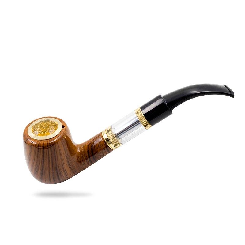Cigarette électronique e Tuyau 618 epipe 618 Kit Ewinvape électronique Pipe avec en bois mod 2.5 ml atomiseur 18350 batterie - 2