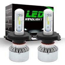 2 шт. 60 Вт 8000LM автомобилей лампочки H7 светодио дный H4 светодио дный Canbus CSP чипы H1 лампа H8 H11 Противотуманные фары 9005 HB3 9006 HB4 для авто фары