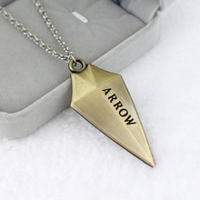 The Avengers 3D Arrow Pendant Necklace