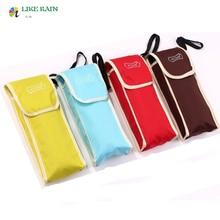 LIKE RAIN 4 Color 180g Small And Exquisite Umbrella Put In Bag New Creative Pocket Umbrella Rain Women Brand Umbrella UBY11