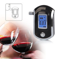 Digital Alcohol Tester With LCD And Used Mouthpiece GT ALT 09