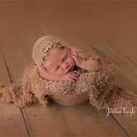 Newborn baby wrap photography props,Handmade lace stretch wrap for baby photography props