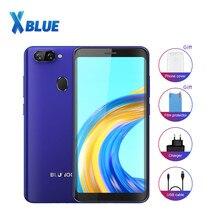 Bluboo D6 pro 4G LTE Android 8.1 5.5 Inç MTK6739V Quad-core 1.5 GHz Parmak Izi 2 GB RAM 16 GB ROM Çift SIM 2700 mAh Cep telefonu