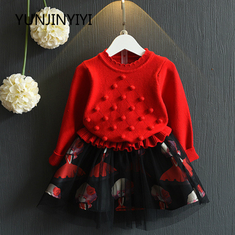 2017 Toddler Woman Fits Autumn Winter Vogue Lengthy Sleeve+Skirt 2PC Youngsters Garments Amuybeen Ladies Clothes Units O-neck Cotton Clothes Units, Low-cost Clothes Units, 2017 Toddler Woman Fits Autumn Winter...