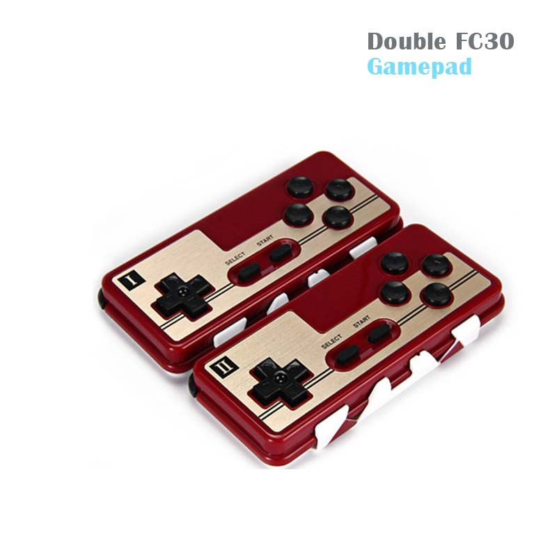 Double 8Bitdo FC30 Wireless Bluetooth Gamepad Remote Control Joystick Gaming Controller for Android ISO Windows Gamepad PK T3 terios s3 wireless bluetooth gamepad bluetooth joystick gaming controller black for android smartphone tablet pc holder included