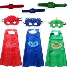 Хеллоуин Костюм для детей подарок Catboy Owlette Маски Кабо младенческая Одежда Set Мальчики Партия Косплей Disfraces Карнавальный подарок