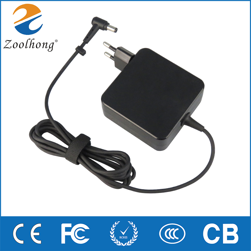 For ASUS laptop charger X550CA450Cy481c computer adapter EU Plug 19V3.42A 65W 5.5mm*2.5mm universal aDP-65dwa power