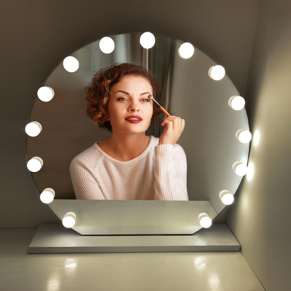 10LED Vanity Light Touch Swtich Makeup Mirror Dimm...