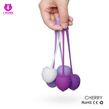 5pcs/set Smart Silicone Kegel Ball Vibrator Cherry Geisha Vaginal Muscle Tight Exercise Ball,Ben Wa Balls,Sex Toys For Woman