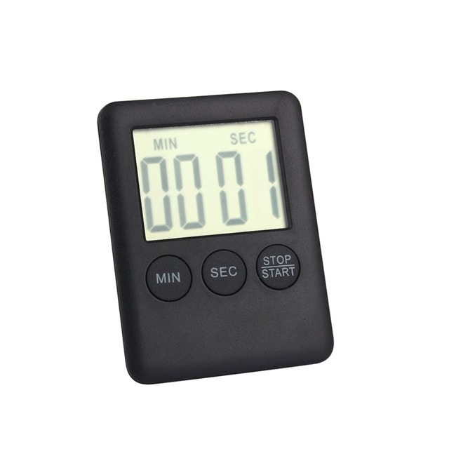 digital kitchen timers mexican style decor w 2 colors square large lcd timer cooking alarm with magnet