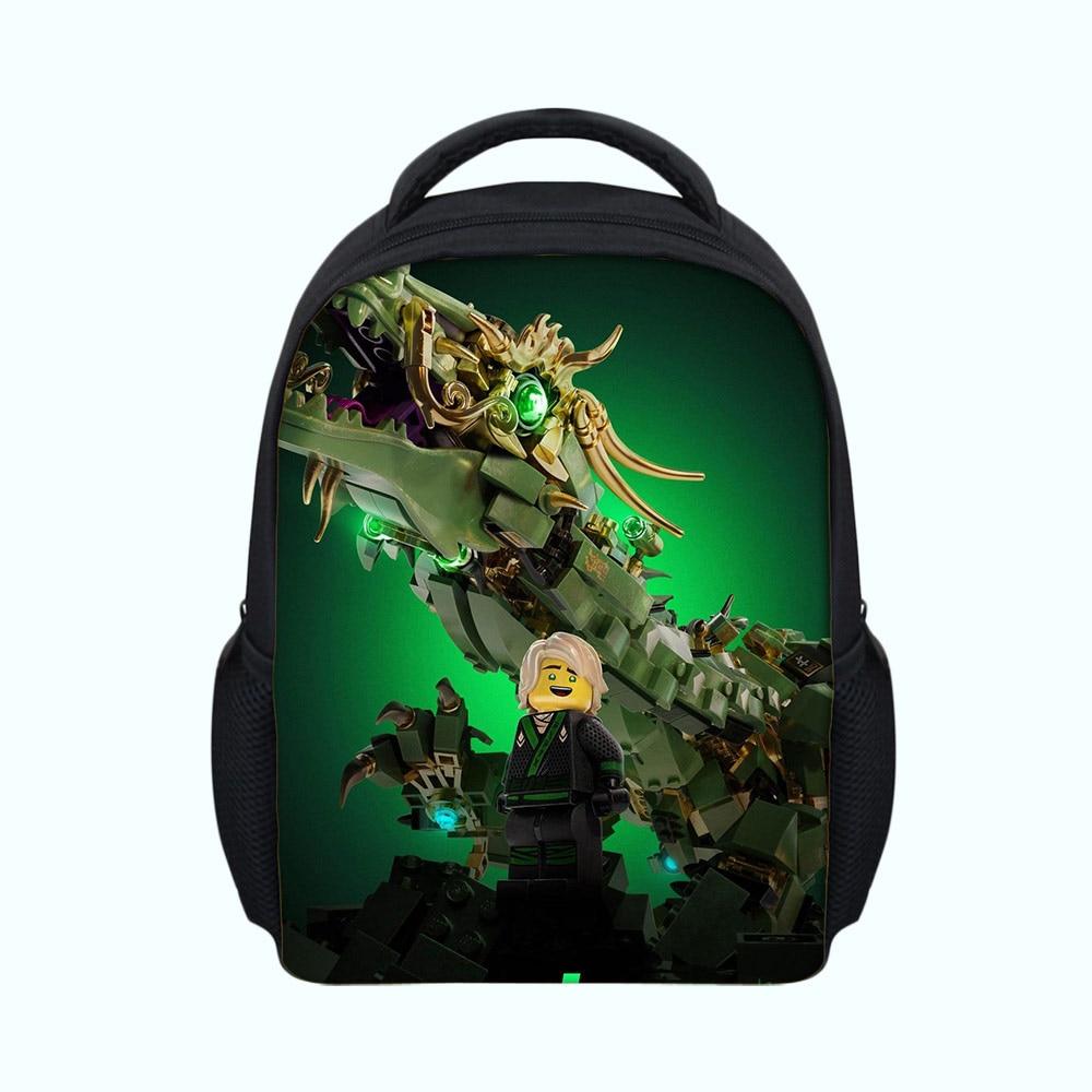 Well-Educated Hot Sale Cartoon Ninjago Games School Supplies Backpack Kids 3d Printing School Bags Boys Girls Children Mochila Bag Satchel Yet Not Vulgar School Bags