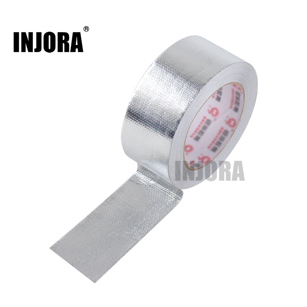 INJORA RC Car Body Shell Aluminium Foil Tape for RC Crawler TRAXXAS TRX4 D90 Axial SCX10 90046 Tamiya HSPINJORA RC Car Body Shell Aluminium Foil Tape for RC Crawler TRAXXAS TRX4 D90 Axial SCX10 90046 Tamiya HSP