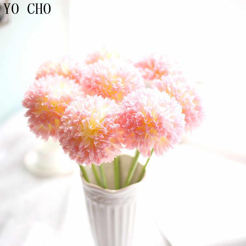 YO CHO Falso Vite Seta Artificiale Hydrangea Semi di Fiori semi di bonsai per la casa giardino Decorazione di Cerimonia Nuziale Hanging Decor Cinese