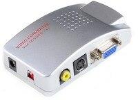 חדש vga לוידאו האוניברסלי המחשב vga לטלוויזיה av rca איתותים מתאם ממיר וידאו תומך במערכת PAL NTSC YZ-1801
