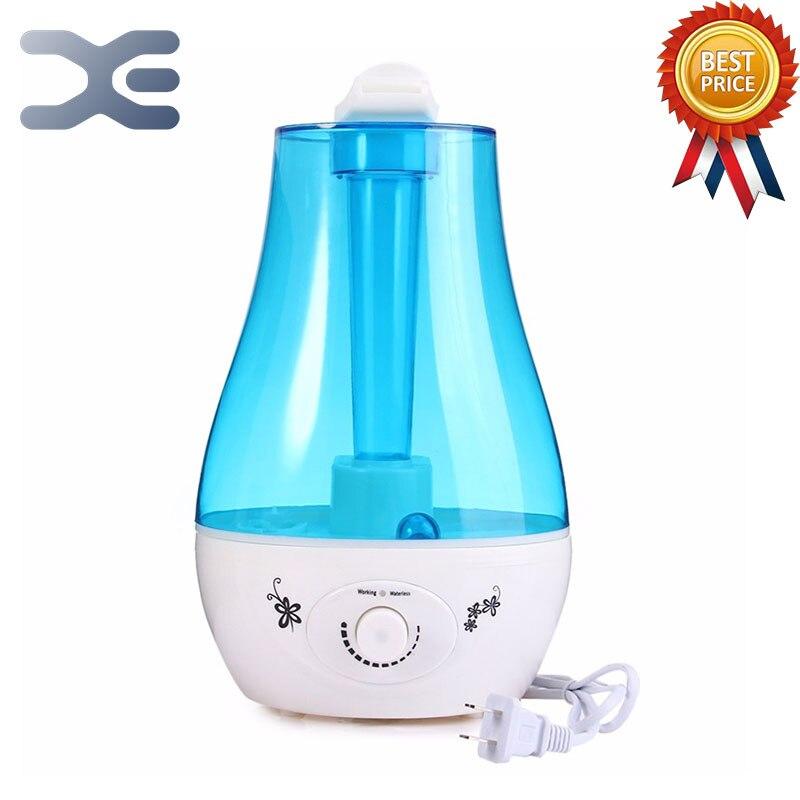 Mini humidificateur d'air à la maison Double pulvérisation 3L grande capacité avec LED lumières aromathérapie humidificateur atomiseur à ultrasons