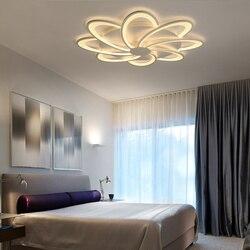 Nowy modern Art akrylowe lampy sufitowe LED lampa sufitowa do salonu do sypialni sypialnia dekoracyjny abażur Lamparas de techo oprawy