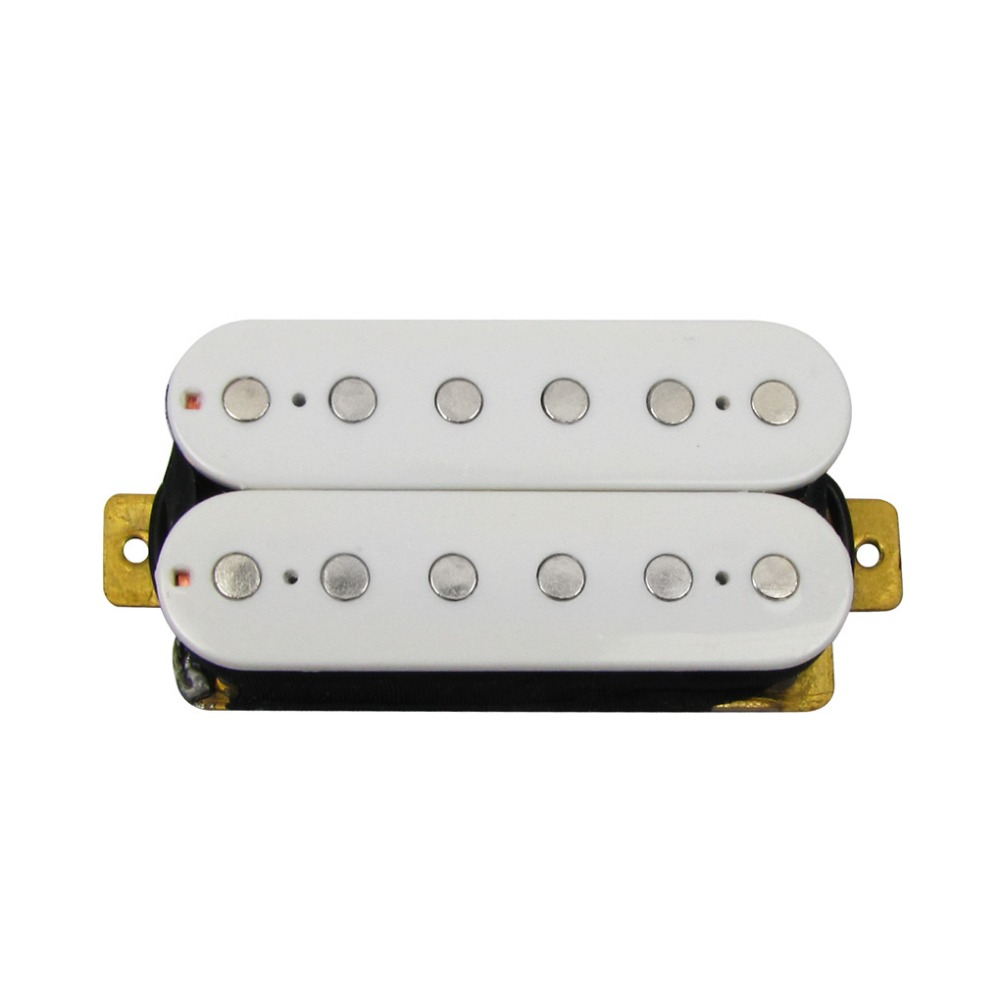 FLEOR Neck Double Coil Humbucker Electric Guitar Pickup 50mm Pole ...