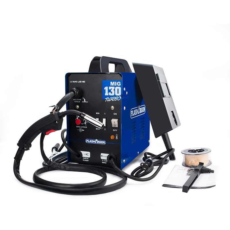 Image 3 - MIG 130 Welder 220 Amp Inverter MIG ARC Gas Gasless Welding MachineMIG Welders   -