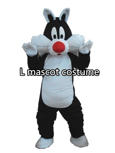 Sylvester cat mascot costume adult size Sylvester cat mascot costume free shipping